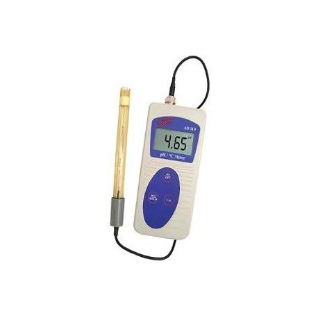AD110 Prenosný profesionálny pH-meter