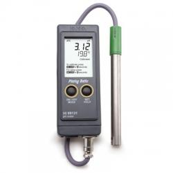 HI99131 Profesionálny prenosný pH meter na galvanické kúpele, uzemnenie a zosilnenie signálu