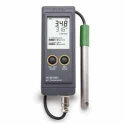 HI991001 Profesionálny prenosný pH meter