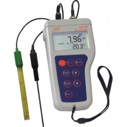 Adwa AD130 Profesionálny vodotesný merač pH/ORP v kufríku