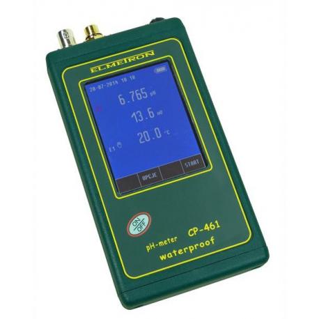 CP-461 vodeodolný pH a mV meter