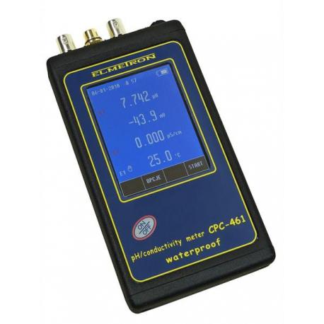 CPC-461 vodeodolný pH meter + vodivosti