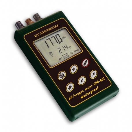 CPO-401 vodeodolný merač rozpusteného kyslíka a pH