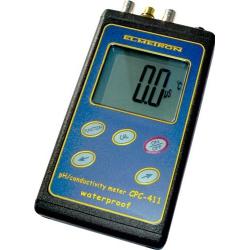 CPC-411 Profesionálny vodotesný merač pH/ORP, vodivosti a slanosti v kufríku