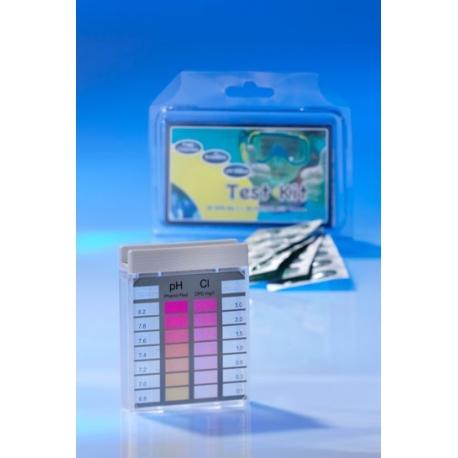 Minitester pre meranie voľného chlóru a hodnoty pH