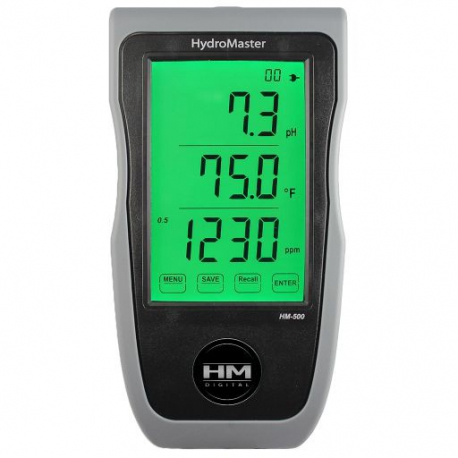 HM-500 HydroMaster pH/EC/TDS/Temp Monitor
