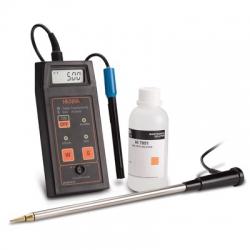 HI993310 Profesionálny prenosný konduktometer pre pôdu