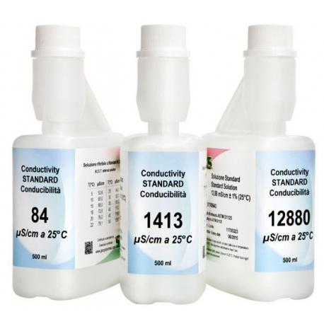 XS Kalibračný roztok 12880 µS/cm2, 500 ml