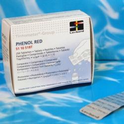 Phenol Red Tabletky na pH, 10 tabliet (blister)
