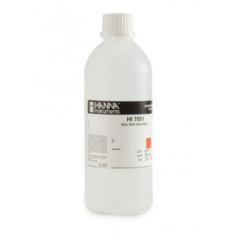 HI7051M Roztok na prípravu vzoriek pôdy, 230 ml