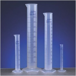VWR Plastový odmerný valec, 500 ml