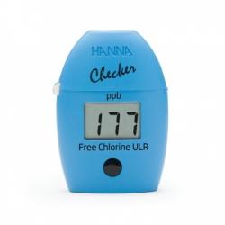HI762 Checker HC Kolorimeter na voľný chlór, ULR- ultra nízky rozsah