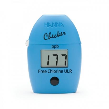 HI762 Checker HC Kolorimeter na voľný chlór, ULR