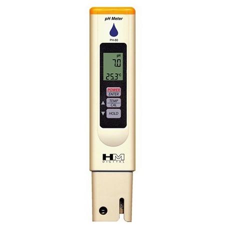 PH-80 Vodotesný pH-meter