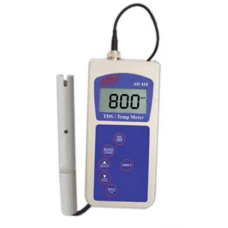 AD410 Prenosný prístroj na meranie TDS