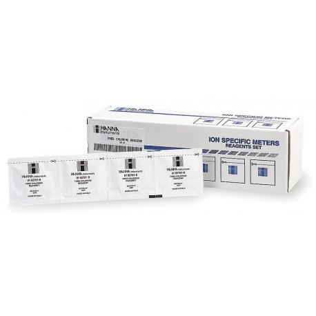 HI95762-01 Práškové reagencie na voľný chlór - LR, 100 testov
