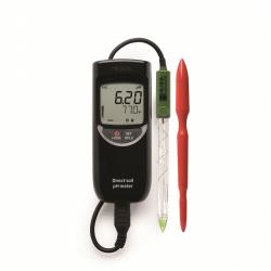 Hanna Instruments HI99121 Profesionálny pH meter pre pôdu v kufríkovej sade