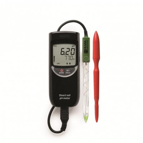 HI 99121 Prenosný pH metrr pre pôdu