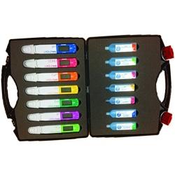 LAQUAtwin Sada pH-33, EC-33, Salt-11, Na-11, K-11, NO3-11, Ca-11 testerov v kufríku