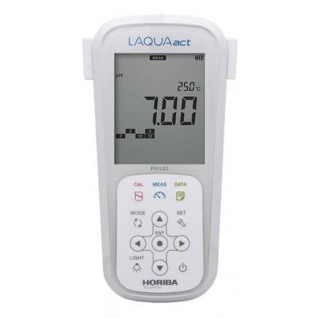LAQUAact PH120-K Prenosný pH/ORP merač v kufríku