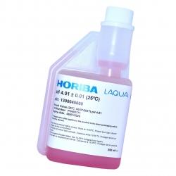 HORIBA Kalibračný roztok pH 4.01 s certifikátom, 250 ml