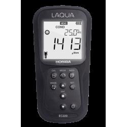 HORIBA LAQUA EC220 Profesionálny merač EC/TDS/RES/SAL, kufríková sada