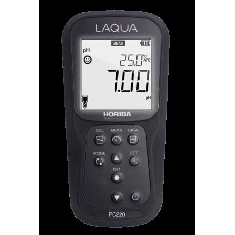LAQUA PC220 Profesionálny merač pH/ORP/EC/TDS/RES/SAL, kufríková sada