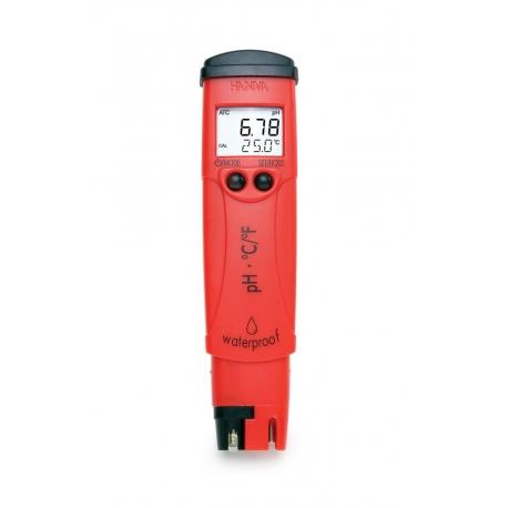 HI98128 Profesionálny vodotesný tester pH