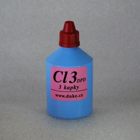 DUKE Reagencie na stanovenie chlóru - Cl3-DPD