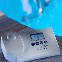 MD 200 Fotometer na pH a peroxid vodíka, tekuté reagencie, v kufríku
