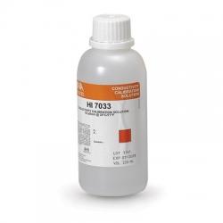 HI7033M Kalibračný roztok EC 84 μS/cm, 230 ml - exspirované
