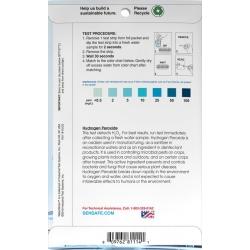 WaterWorks Testovacie papieriky na peroxid vodíka, 30 testov