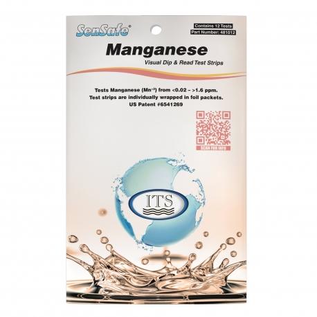 SenSafe Testovacie pásiky na mangán, 12 testov