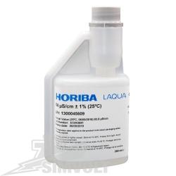 HORIBA Štandardný roztok EC 84 μS/cm s certifikátom, 250 ml
