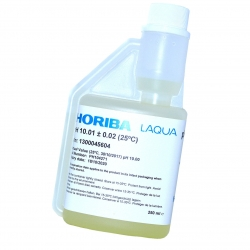 HORIBA Kalibračný roztok pH 10.01 s certifikátom, 250 ml