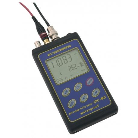 CPC-401 Profesionálny vodotesný merač pH/ORP a vodivosti v kufríku