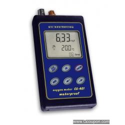 CO-401 Profesionálny vodotesný merač rozpusteného kyslíka