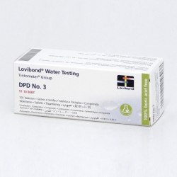DPD NO. 3, Tabletky na celkový chlór, 100 tabliet