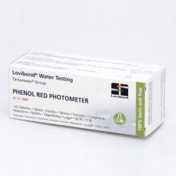 Phenol Red Tabletky na pH, 100 tabliet