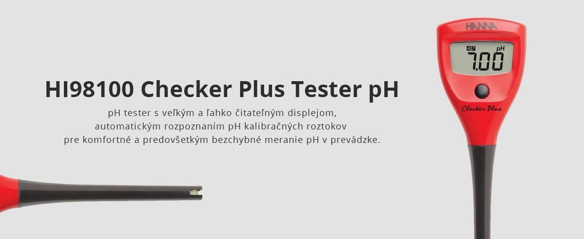 HI98100 Checker Plus Tester pH