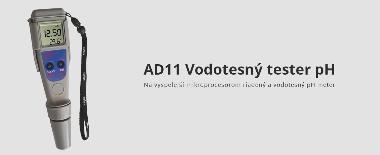 AD11 Vodotesný tester pH
